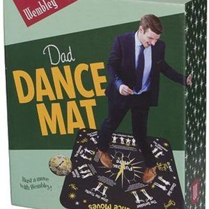 Wembley Dad Dance Mat Spinner Game Funny Gift NWT